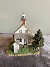 Harbour Lights Old Mission Point Michigan Mi #236 1999 Coa & Box Lighthouse