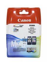 Original Canon PG510 Negro y CL511 Color Cartucho de tinta