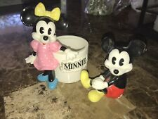 Mickey Mouse and Minnie Mouse collectibles Porcelain Figures