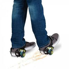 Jets Heel Wheels Kids Skate Roller Fun Exercise Adjustable Skates Sparks Gift