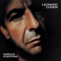 "Leonard Cohen : Various Positions VINYL 12"" Album (2017) ***NEW*** Amazing Value"