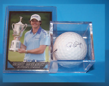 RORY MCILROY NEW ACEO CARD & HIS SIGNATURE GOLF BALL UNIT