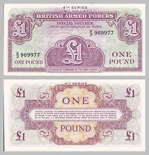 Gran Bretagna/Great Britain British Armed Forces 1 Pound 1962 pm36 unz.