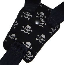 Toddler SKULL Buckle Strap Crotch Car Seat Pram Highchair Harness Cover Belt Pad