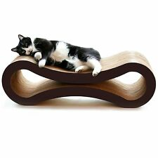 PetFusion Cat Scratcher Lounge, Deluxe, Bed, Condo,CatNip,Toy,Feline, Lounge,Pad