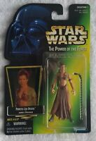 STAR WARS POWER OF THE FORCE PRINCESS LEIA ORGANA AS JABBA'S PRISONER