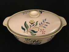 Oval Vegetable Tureen P. Regout & Co. Maastrich Holland Floral Pattern