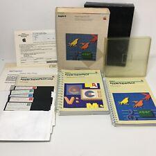 Apple SuperPILOT, Apple II 2 vintage boxed software