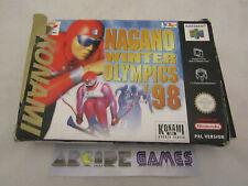 NAGANO WINTER OLYMPICS 98 NINTENDO 64 (envoi suivi, vendeur pro)