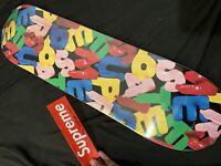 "SUPREME BALLOONS SKATEBOARD DECK BLACK 8.125"" x 32"" 1994 FALL WINTER 2020 FW20"
