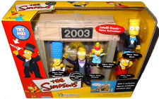 Simpsons New Year's Eve Playset Environment WOS MIB World Of Springfield 2003!