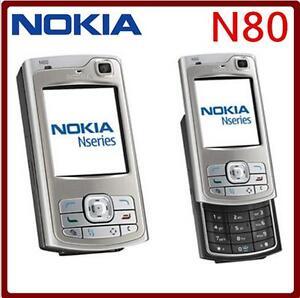 Original Nokia N80 GPS Bluetooth WIFI GSM 3G WIFI FM MP3 Cellphone Unlocked