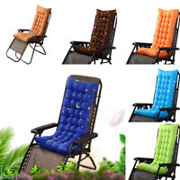 Home Removable Garden Rocking Deck Chair Outdoor Pool Thick Sun Seat Pad Cushion