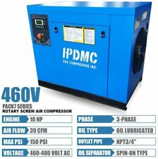 460v 3 Phase 10hp Rotary Screw Air Compressor 75kw Industrial Screw Compressor