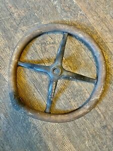 1913-1918 FORD MODEL T STEERING WHEEL WOOD PRESSED STEEL 15 INCH 13 14 15 16 17
