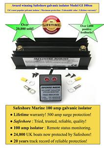Galvanic isolator 100amp remote status monitor Over 24,000 sold  Lifetime G'tee!