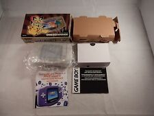 Pokemon Center NY Gold Nintendo Game Boy Advance System (COMPLETE IN BOX) #S046