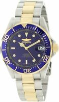 Invicta Men's Pro Diver Automatic Blue Dial Two Toned Stainless Steel Watch 8928