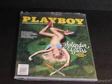 playboy*september 2013* * splendor in the grass* factory sealed*playboy