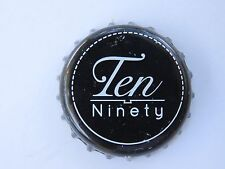 Beer Bottle Crown Cap ~ Ten Ninety Brewing Co ~ Glenview, Illinois Breweriana