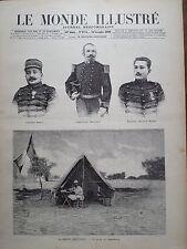 LE MONDE ILLUSTRE 1899 N 2224  LA MISSION BRETONNET VERS LE TCHAD