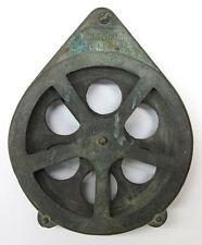 "Kolstrand, Seattle Wash, 6"" Bronze Pulley Block for Fishing Tackle"