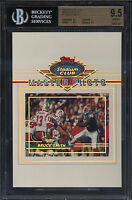 1993 Stadium Club 5x7 Master Photo Bruce Smith Gem Mint BGS 9.5 Buffalo