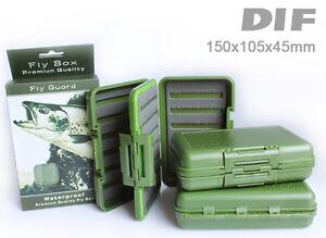 DIF Premium Fliegenbox, Flybox, Fliegendose, Wasserdicht
