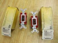 Hubbell CS320 Pack Of 2 Toggle Switches