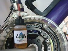 Liquid Bearings, BEST synthetic oil for Cranksets and Derailleurs, PLEASE READ!!