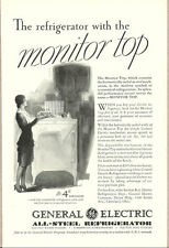 1932 vintage appliance ad, GE All-Steel Refrigerator- 050813