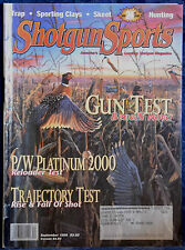 Rare Magazine SHOTGUN SPORTS SEPTEMBER 1999 !!!BENELLI NOVA!!!
