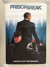 PRISON BREAK,'ESCAPE IS JUST THE BEGINNING', AUTHENTIC 2006 POSTER