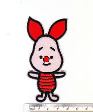 kiTki Disney Winnie the Pooh piglet iron-on embroidered patch emblem applique