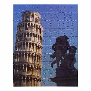 GRAFIX 8 Jigsaws 2700 Pieces 8 Wonders Of The Ancient World Leaning Tower Pisa