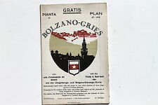 23233 PIANTA di Bolzano-Gries Plan Stadtplan map  Landkarte um 1930