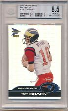 2000 Pacific Prism Tom Brady #156 Prospects /1000 Rookie RC BGS 8.5 NM-MT+