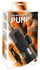 Impotenzhilfe Penispumpe Vakuum Extender Vergrößerung Vibrating Man Pump