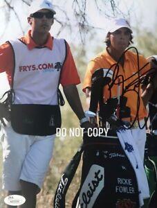 Golf Legend  Rickie Fowler  AUTOGRAPHED 8X10 PHOTO JSA Certified COA