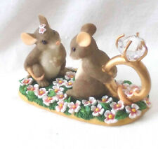 """Vintage Charming Tails """"I Have A Question For You"""" Proposal Pink Nib (Mouse)"""