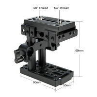 Niceyrig Quick Release W/Mount Base QR Plate for Manfrotto Standard Accessory