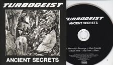 TURBOGEIST ANCIENT SECRETS RARE 5 TRACK PROMO CD