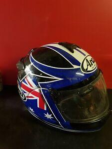 Arai motorcycle helmet, Size XL