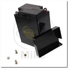 Motorradbatterie 01611 Gel schwarz 6V + Deckel Blitz battery black Triumph-T120