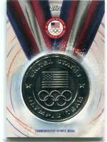 2016 Topps Olympic - US OLYMPIC TEAM - Commemorative Silver Olympic Medal