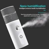 Nano Face Moisturizing Mist Spray Machine USB Facial Mister Facial Humidifier ..