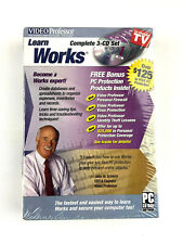 Video Professor Learn Works 3 Cd Set Pc Software P036Wk (Sealed)