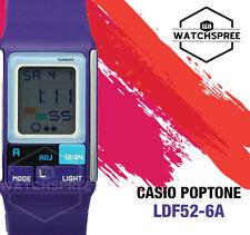 Casio Poptone Ladies Watch LDF52-6A