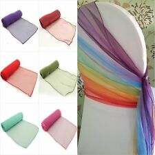 30cm*275cm Organza Table Runner Chair Sash Wedding Party Fabric Decoration