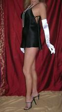 Victoria's Secret Bridal White Silk Satin Charmeuse Babydoll Nightie M